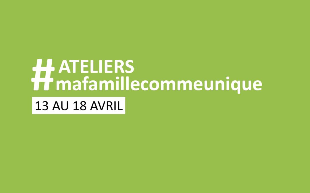 #coconfinement | Programme des ateliers du 13 au 18 avril